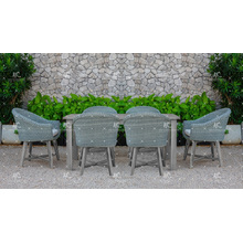 High Quality All Weather Coffee Set de jantar PE Rattan Wicker Furniture for Outdoor