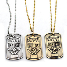 Wholesale Custom Logo Metal Stainless Steel Dog Tag For Sale