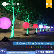 Vente en gros PVC LED Balloons Lighting Advertising Ballon gonflable pour trépied