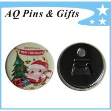 Insigne de bouton d'étain avec l'ouvreur de bouteille pour le cadeau promotionnel (bouton badge-59)