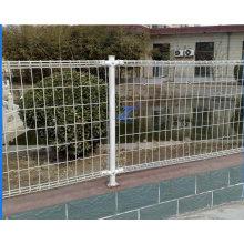 Doppelter Schleifen-dekorativer Zaun für Swimmingpool