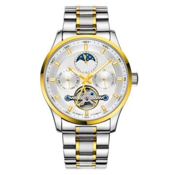 Neue Art automatische Mode Edelstahl Uhr Hl-Bg-104
