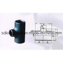 T de redução de aço carbono DIN2615-1992 / DIN2617-1991