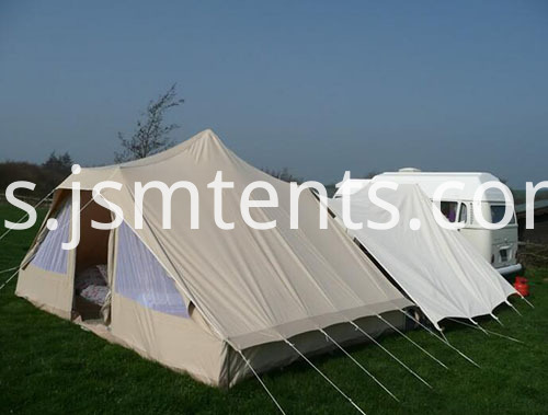 luxury canvas party bell tent