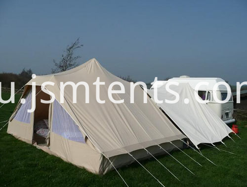 Glamorous Camping Bell Tents