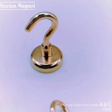 Gancho magnético de neodimio para toallas con forma de copa de 42 mm