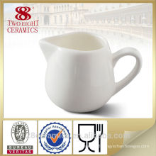 Wholesale plain white porcelain milk jug, lovely creamer bowl