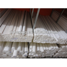 Extruded 6mm round teflon rod