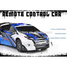 Rc car 2.4G 4 channel 1:18 scale full proportional high speed rc car 4wd rc drift car