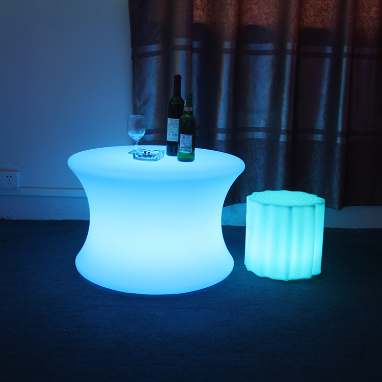 Led Round Center Table Unique