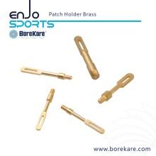 Borekare Caça Militar Gun Limpeza Acessórios Brass Patch Holder Cleaner / Pincel para espingarda