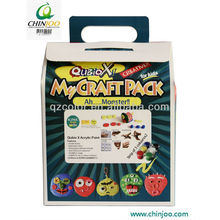 Lodo de papel Art Craft Bag Ah ... Monstro
