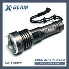 CREE XR-E Q5x3 светодиодный фонарик X-BEAM