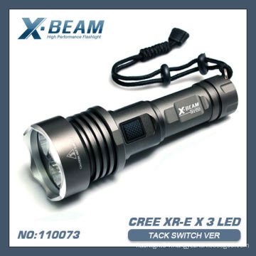 CREE XR-E Q5x3 LED Flashlight X-BEAM