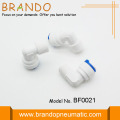 Plastic Quick Connect Pneumatische Tube Fittings