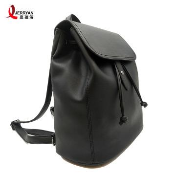 Adventure Large Vegan Leather Backpacks Skateboard Bag