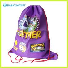 Custom Logo Printing Polyester Drawstring Bag Backpack RGB-001