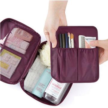Men Women Travel Hanging Cosmetic Toiletry Bag
