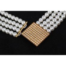 Fashion belt buckle lady belt wholesale crystal beaded belts