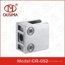 Collier en acier inoxydable pour support en verre pour système de main courante (CR-052)