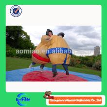 Trajes de sumo de lucha inflables con alfombrillas para adultos