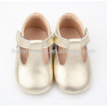 Wholesale leather sole dance shoes baby pure leather shoes