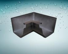 New design metal rain gutter pipe,aluminum water gutter for wholesales
