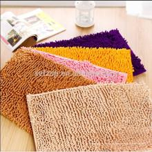 tecidos e tecidos chenille banho tapete tapete fazendo materiais