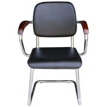 black PU task chair