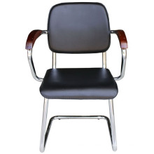Черный стол для совещаний PU