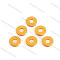 OEM Gold Countersunk Aluminum Washer for Drone