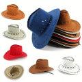 Мода Западной Ковбойские Шляпы
