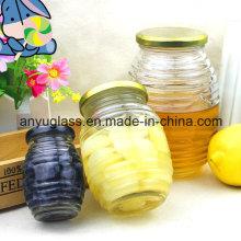 Honey Glass Jar for Preserve Food, Honey, Jam, Pickle