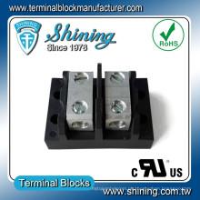 TGP-XXX-B Series 2 ~ 12 Pole com poder elétrico empilhador bloco de terminais