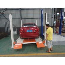 Plataforma hidráulica do estacionamento da coluna do motor 4 da loja 4S