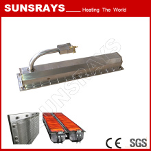 Special Infrared Burner for Seafood Processing and Drying
