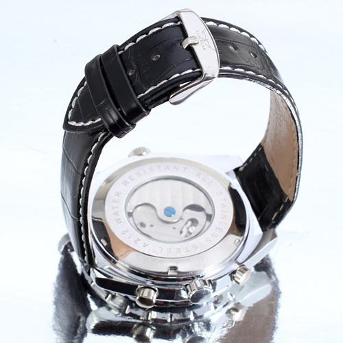 Alloy Case Mineral Glass Mens Wrist Watch