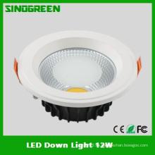 Alta calidad Epistar COB LED abajo luz UL CE RoHS FCC