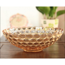 2015 Wholesale Wholesale Amber Crystal Fruit Plate For Gifts Or Home Decorations
