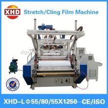 Alta qualidade pe esticar película / máquina de extrusão de película de aderir
