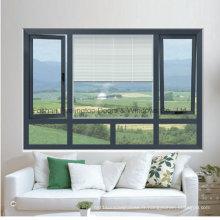 Fenêtre à battants en aluminium de haute qualité et meilleur prix (FT-W135)