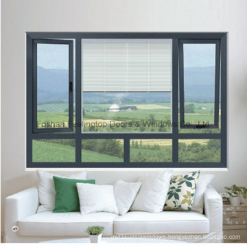 High Quality and Best Price Aluminium Casement Window (FT-W135)