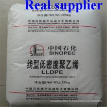 Résine vierge de PVC PEPE LDPE de granules de PE de film de Sinopec en plastique de résine