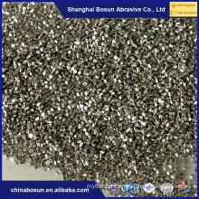 Metal abrasive cut wire shot , zinc shot/zinc cut wire shot