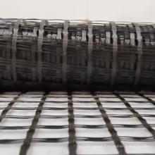 Non self adhesive 120kn fiberglass geogrid asphalt reinforcement for driveway