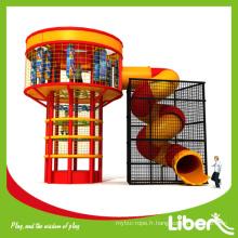 Tour d'escalade de trampoline avec tour d'araignée