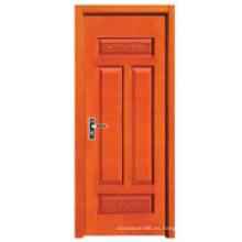 Puerta interior de madera (HDF-006)