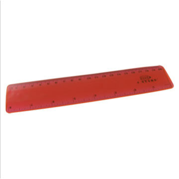 Cheap Plastic Red Ruler