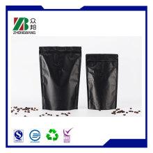 Folie Kaffee Verpackung Zipper Tasche