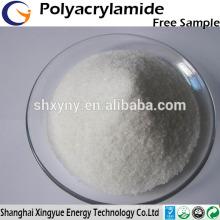 polímero de tratamento de água APAM floculante de poliacrilamida aniónica